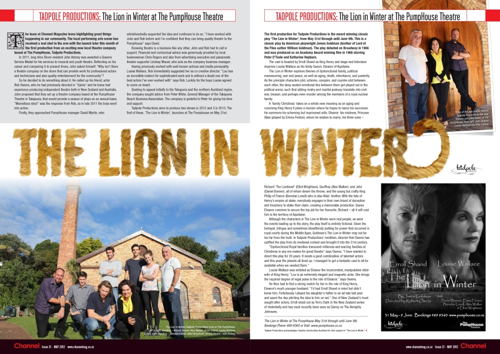 LIW Channel Mag article