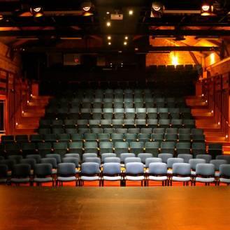 Interior of The PumpHouse Theatre